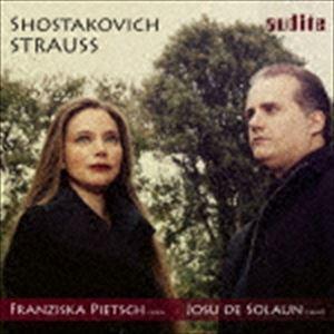 フランチスカ・ピーチ(vn) / R.シュトラウス&ショスタコーヴィチ:ヴァイオリン・ソナタ集 [CD] ggking