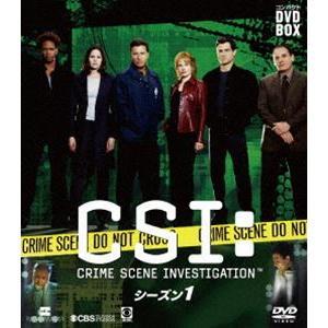 CSI:科学捜査班 コンパクト DVD-BOX シーズン1 [DVD] ggking
