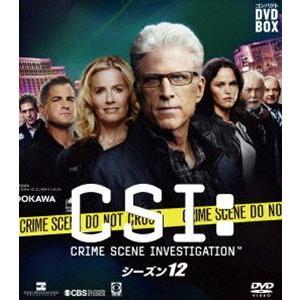 CSI:科学捜査班 コンパクト DVD-BOX シーズン12 [DVD] ggking