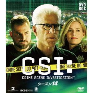 CSI:科学捜査班 コンパクト DVD-BOX シーズン14 [DVD] ggking