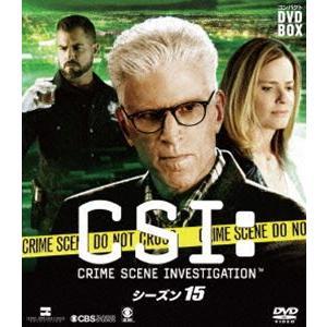 CSI:科学捜査班 コンパクト DVD-BOX シーズン15 [DVD] ggking