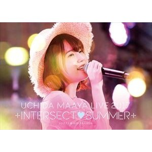 内田真礼/UCHIDA MAAYA LIVE 2017「+INTERSECT■SUMMER+」 [DVD]|ggking