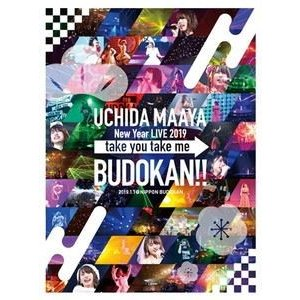 内田真礼/UCHIDA MAAYA New Year LIVE 2019「take you take me BUDOKAN!!」 [DVD]|ggking