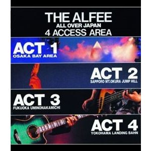 THE ALFEE/THE ALFEE ALL OVER JAPAN 4ACCESS AREA 1988 [Blu-ray]|ggking