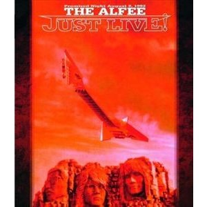 THE ALFEE/JUST LIVE! [Blu-ray]|ggking