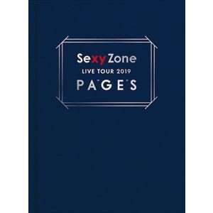 Sexy Zone LIVE TOUR 2019 PAGES(初回限定盤Blu-ray) [Blu-ray]|ggking