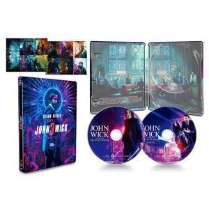 ジョン・ウィック:パラベラム コレクターズ・エディション【数量限定スチールブック仕様・日本オリジナルデザイン】 [Blu-ray]|ggking