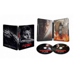 ランボー ラスト・ブラッド Blu-ray+4K ULTRA HD<2枚組>【数量限定スチールブック仕様・日本オリジナルデザイン】 [Blu-ray]|ggking