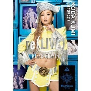 倖田來未/KODA KUMI LIVE TOUR 2019 re(LIVE)-Black Cherry- [DVD]|ggking