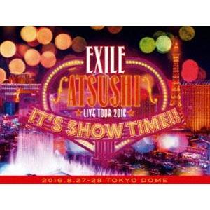 "EXILE ATSUSHI LIVE TOUR 2016""IT'S SHOW TIME!!""(豪華盤) [DVD] ggking"