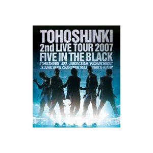東方神起/Blu-ray Disc 東方神起 2nd LIVE TOUR 2007 〜Five in The Black〜 [Blu-ray] ggking