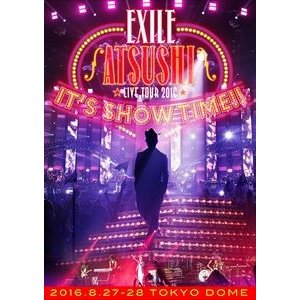 """EXILE ATSUSHI LIVE TOUR 2016""""IT'S SHOW TIME!!""""(通常盤) [Blu-ray] ggking"""