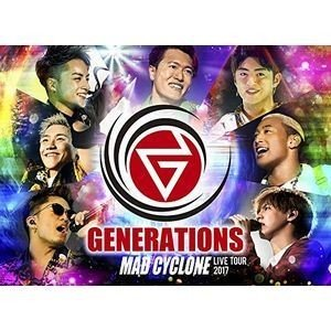 GENERATIONS from EXILE TRIBE/GENERATIONS LIVE TOUR 2017 MAD CYCLONE(通常版) [Blu-ray]|ggking