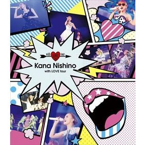 西野カナ/with LOVE tour(通常盤) [Blu-ray]|ggking