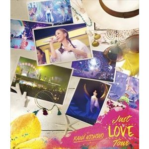 西野カナ/Just LOVE Tour(通常盤) [Blu-ray]|ggking