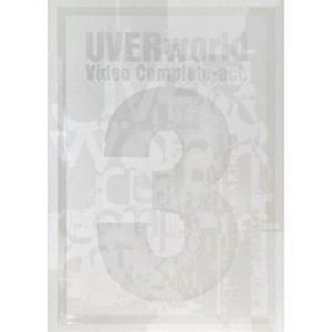 UVERworld/Video Complete-act.3-(初回生産限定盤) [DVD]|ggking