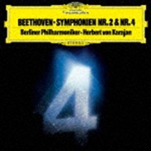 ヘルベルト・フォン・カラヤン(cond) / ベートーヴェン:交響曲第2番・第4番(初回限定盤/UHQCD) [CD] ggking