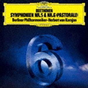 ヘルベルト・フォン・カラヤン(cond) / ベートーヴェン:交響曲第5番≪運命≫・第6番≪田園≫(初回限定盤/UHQCD) [CD]|ggking