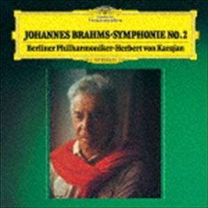 ヘルベルト・フォン・カラヤン(cond) / ブラームス:交響曲第2番 悲劇的序曲(初回限定盤/UHQCD) [CD] ggking