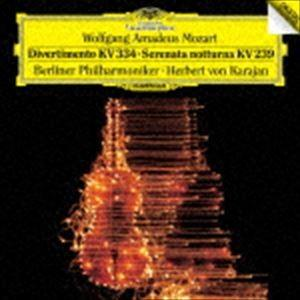 ヘルベルト・フォン・カラヤン(cond) / モーツァルト:ディヴェルティメント第17番セレナーデ第6番≪セレナータ・ノットゥルナ≫(初回限定盤/UHQCD) [CD]|ggking