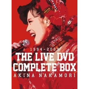 中森明菜 THE LIVE DVD COMPLETE BOX [DVD]|ggking