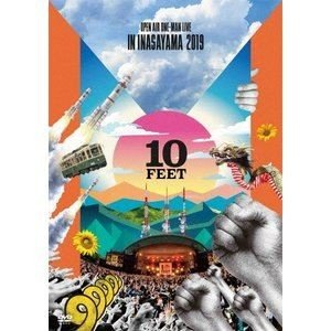 10-FEET OPEN AIR ONE-MAN LIVE IN INASAYAMA 2019 [DVD] ggking