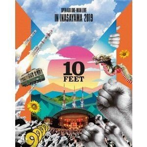 10-FEET OPEN AIR ONE-MAN LIVE IN INASAYAMA 2019(初回生産限定盤) [Blu-ray] ggking