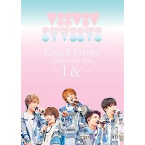 King & Prince CONCERT TOUR 2020 〜L&〜(通常盤) [Blu-ray]|ggking