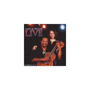 エイミー・ハナイアリイ&ウィリー・K / エイミー&ウィリー・ライヴ〜アロハ・ライヴ 2003 [CD]