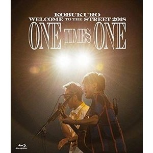 コブクロ/KOBUKURO WELCOME TO THE STREET 2018 ONE TIMES ONE FINAL at 京セラドーム大阪(通常盤) [Blu-ray]|ggking