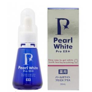 歯 ホワイトニング 自宅 セルフ マニキュア 歯白く 美白 歯磨き粉 パールホワイトプロ EXプラス  薬用Pearl White Pro 送料無料|ggtokyo