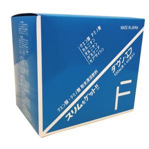 ダウン・エフ(7g×60袋入り) ダイエット クエン酸 アミノ酸 健康 スリム ボディシェイプ 飲むだけ おいしい 人工甘味料不使用 疲れ 代謝 アンチエイジング|ggtokyo
