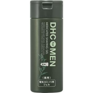 【医薬部外品】DHC for MEN 薬用 シェービングジェル 140mL 男性 シェービング 洗顔料 洗顔 洗顔フォーム ジェル 電気カミソリ|ggtokyo