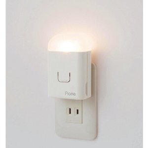 ピオマ ここだよライトS コンセント 充電式 常備灯|ggtokyo