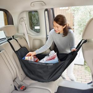 車内の荷物をすっきり整理!ハンモックバッグ バッグ 車 アイデア カーグッズ マイバッグ エコバッグ トート 買い物 スーパー 便利 車用品  【代引不可】|ggtokyo