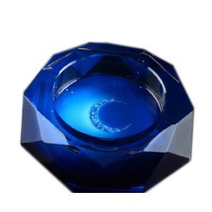 GREEM MARKET(グリームマーケット) 円形 アラウンド 八角形 多角形 灰皿 高級クリスタ...
