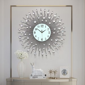 fbbd85cef1 GREEM MARKET(グリームマーケット) 大きい 特大 高級 モダン おしゃれ デザイン 掛け時計 壁掛け時計 GMS00892(M)