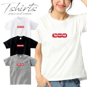 <巷で話題のオリジナルTシャツ>  話題のボックスロゴTシャツ。 ボディは着用時のフィッ...