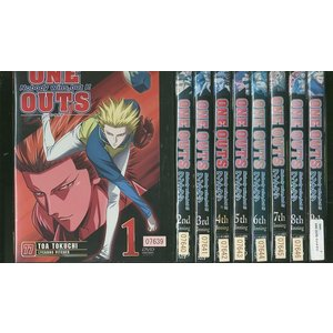 ONE OUTS ワンナウツ 全9巻 DVD レンタル版 レンタル落ち 中古 リユース 全巻 全巻セット|gift-goods