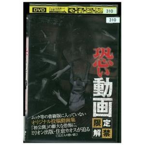 DVD 恐い動画 限定解禁 レンタル落ち LL13675