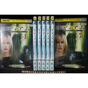 DVD ミディアム 霊能捜査官アリソン・デュボア シーズン1 全7巻 レンタル落ち Z3T1949