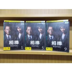 DVD 相棒 Eleven season11 全12巻 ※ジャケット1、5、9巻のみ 水谷豊 セット...