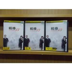 DVD 相棒 season13 全11巻 ※ジャケット1、5、9巻のみ 水谷豊 セットレンタル レン...