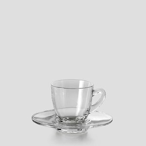 オーシャン グラス  Ocean/オーシャン シアトル デミタス カップ&ソーサー ティーカップ 5...