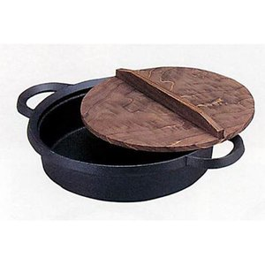 南部鉄器 すき焼き鍋 鉄分補給 |南部鉄器 鉄鍋 味くらべ 内径270mm IH対応 | すき焼き鍋 C05-04|gift-kingdom