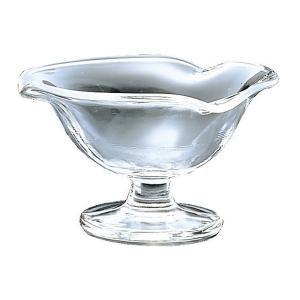 デザートグラス おしゃれ 食器 ギフト  アデリア フラッペ 花 700-09 X 6個 ( アイス サンデーカップ )   知床 F-70376 gift-kingdom