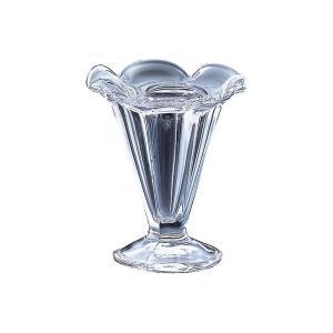 デザートグラス おしゃれ 食器 ギフト  アデリア パフェ 花 595 X 6個 ( アイス サンデーカップ )   知床 F-70378 gift-kingdom