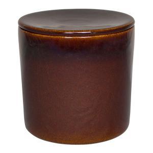 キッチン便利小物食器 |伊賀焼窯元 熟成名人 アメ 直径:123mm | 家庭で簡単塩麹 NNC-99(NC-99)|gift-kingdom