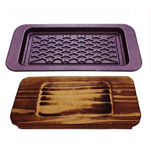 南部鉄器 ステーキ皿 鉄分補給 |南部鉄器 ステーキ皿 角 | フライパン C08-03|gift-kingdom