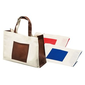 エコバッグ  エコバッグ&雑貨 マルチトートバッグ(横型) 6J-T004 色柄指定不可 gift-kingdom